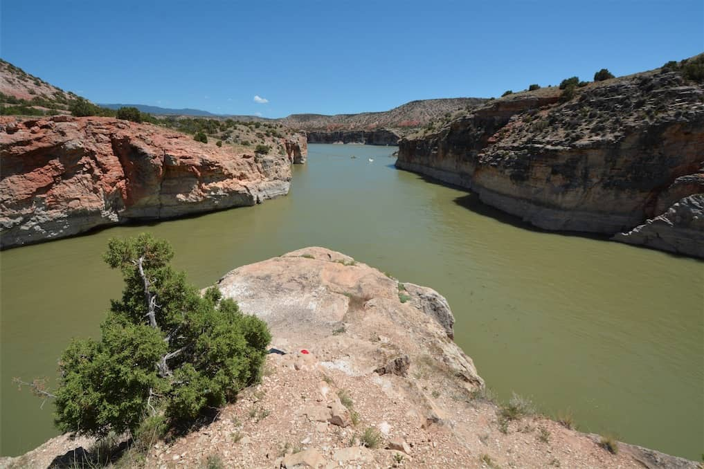 Barry's Landing in Bighorn Canyon National Recreation Area