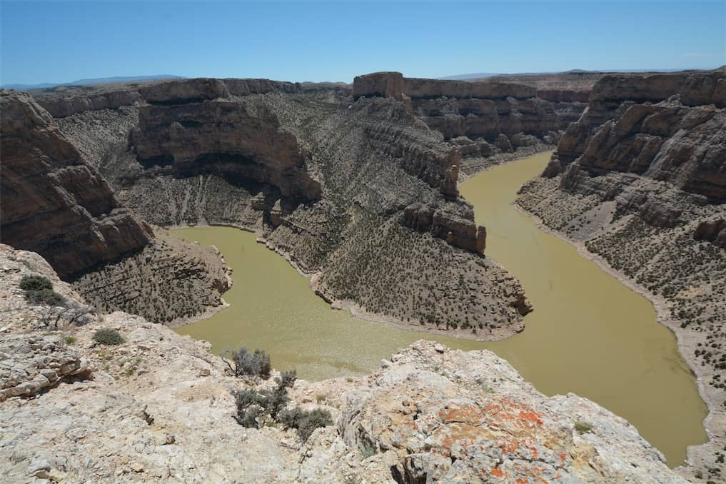 Devil Canyon Overlook in Bighorn Canyon National Recreation Area