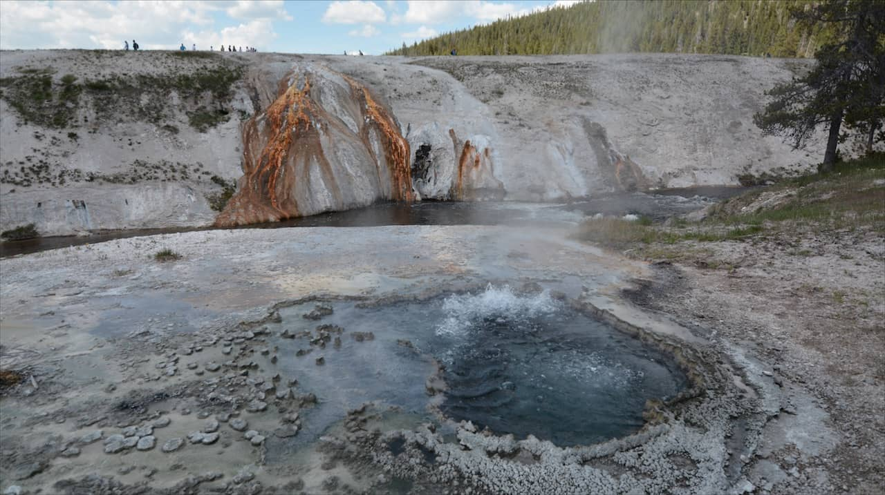 Yellowstone National Park Hot Spot