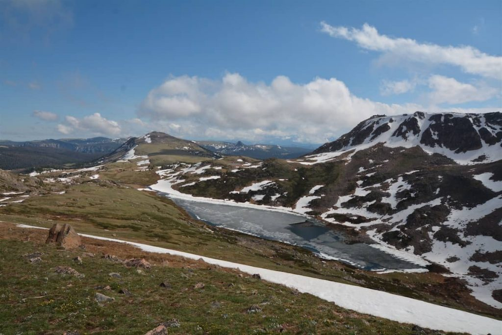 Looking East from atop Beartooth Pass