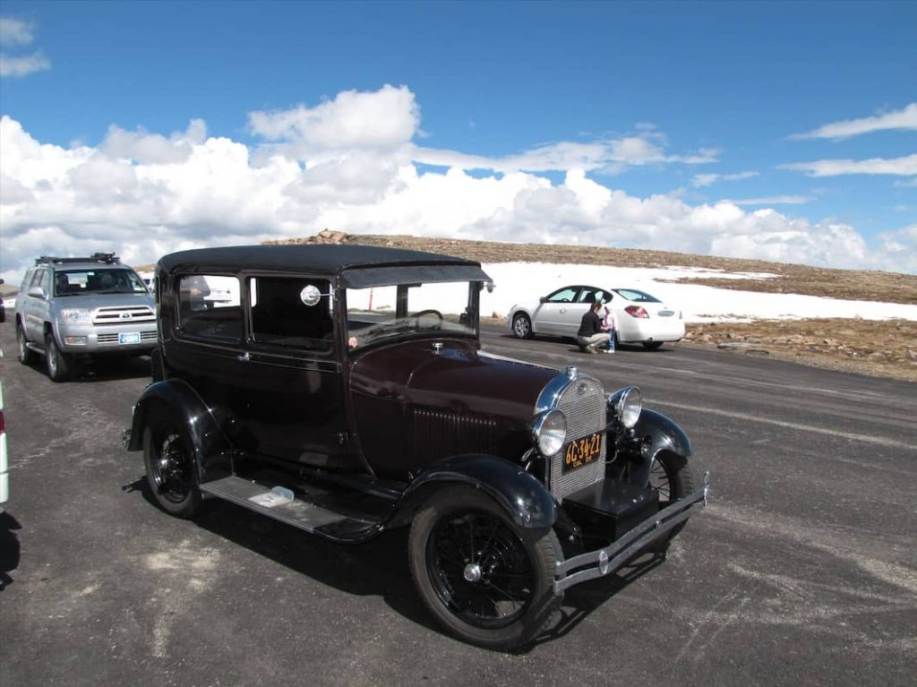 Jalopy Atop of Beartooth Pass
