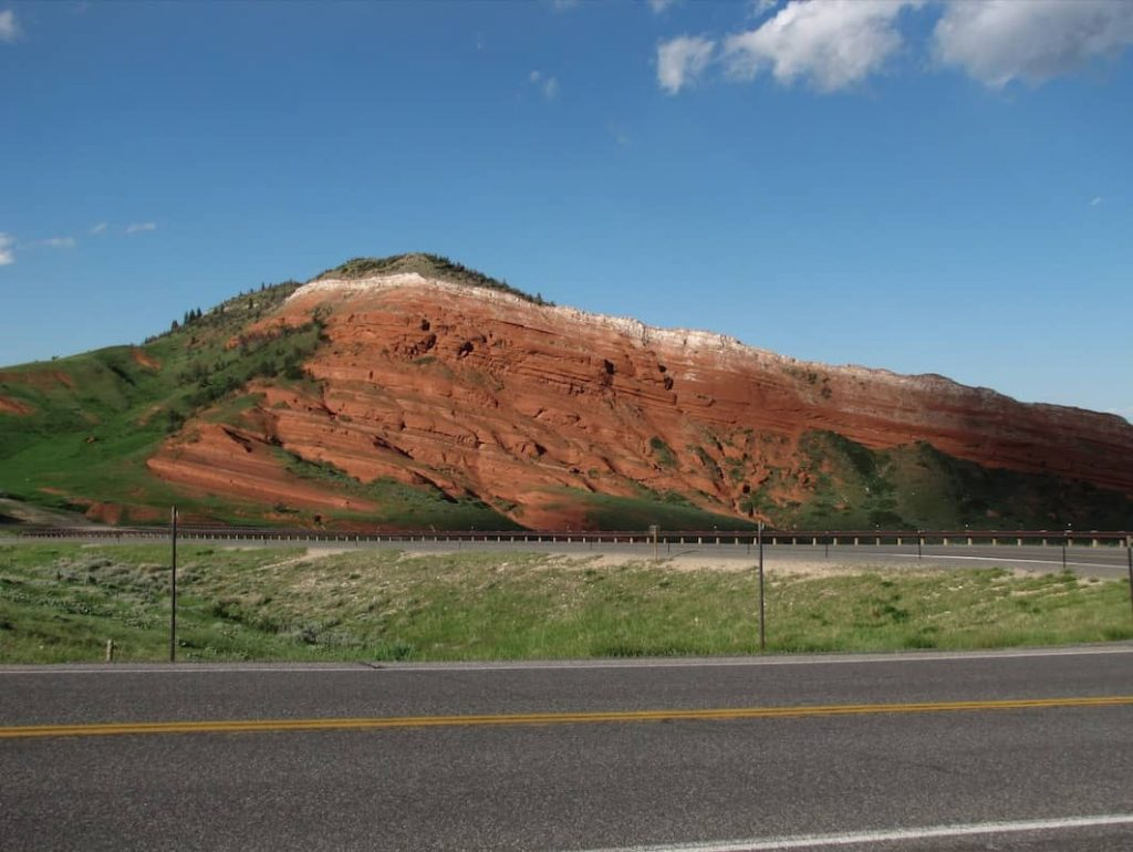 Red Rock Buttes Along Dead Indian Hill Road