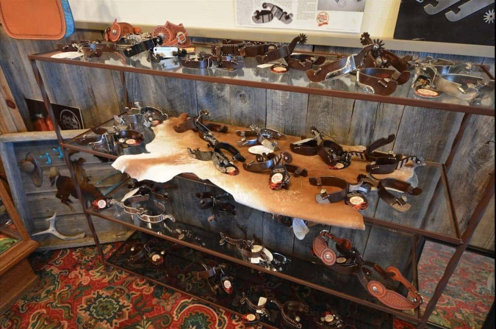 Tom Balding's Bits and Spurs on Display in Sheridan Wyoming