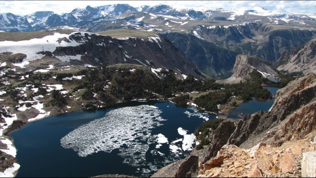 Twin Lakes at Beartooth Basin Ski Area in 2010