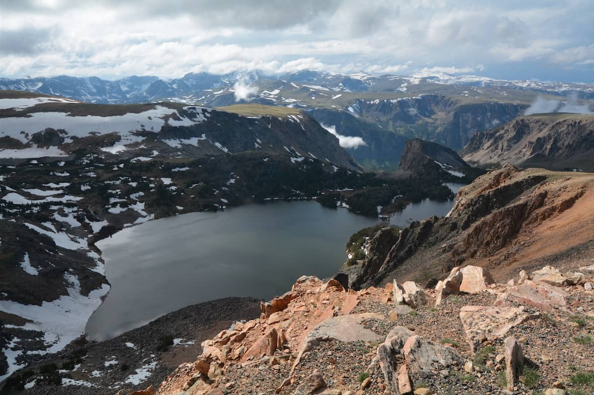 Twin Lakes at Beartooth Basin Summer Ski Area