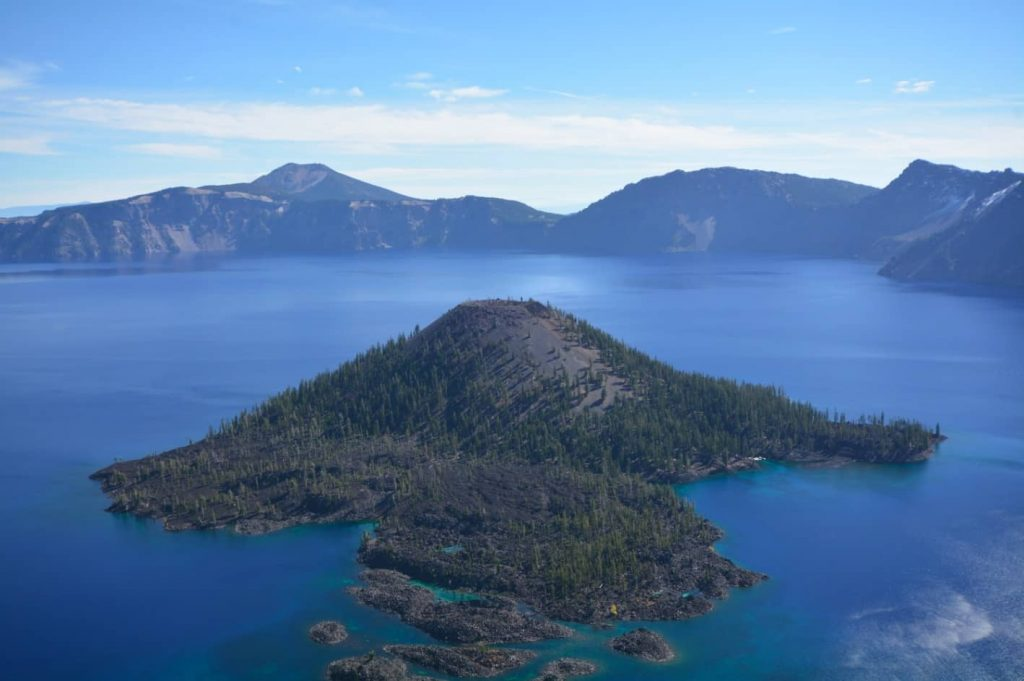 A Blue Gem: Crater Lake in southern Oregon