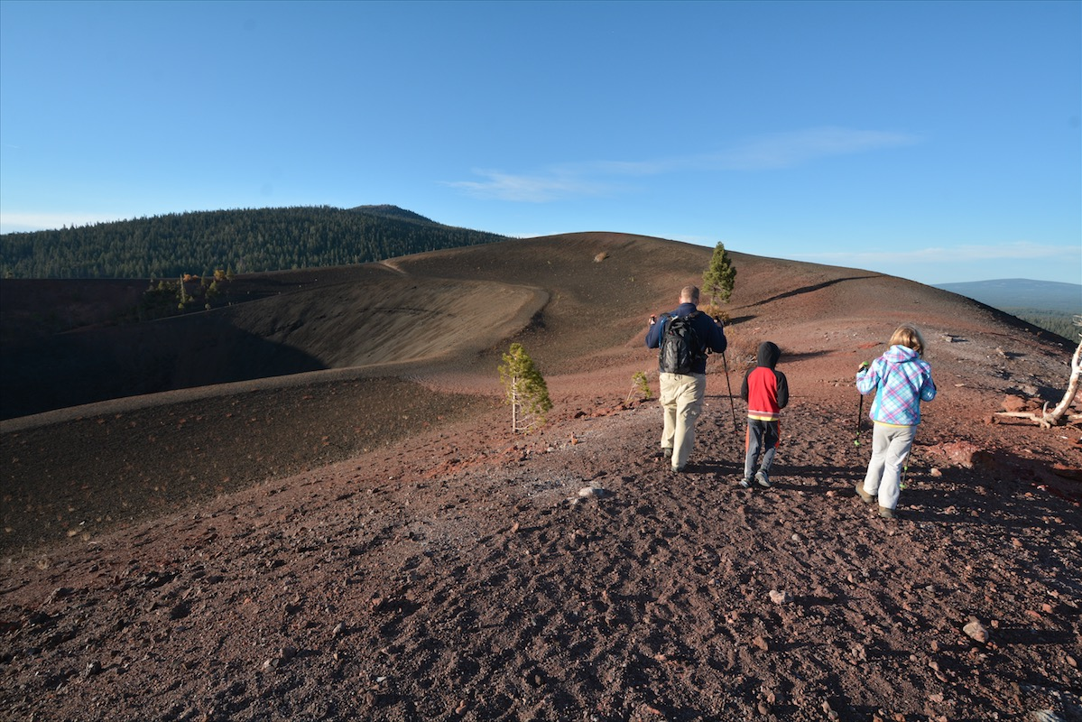 What was formerly Cinder Cone National Monument is now a part of Lassen Volcanic National Park