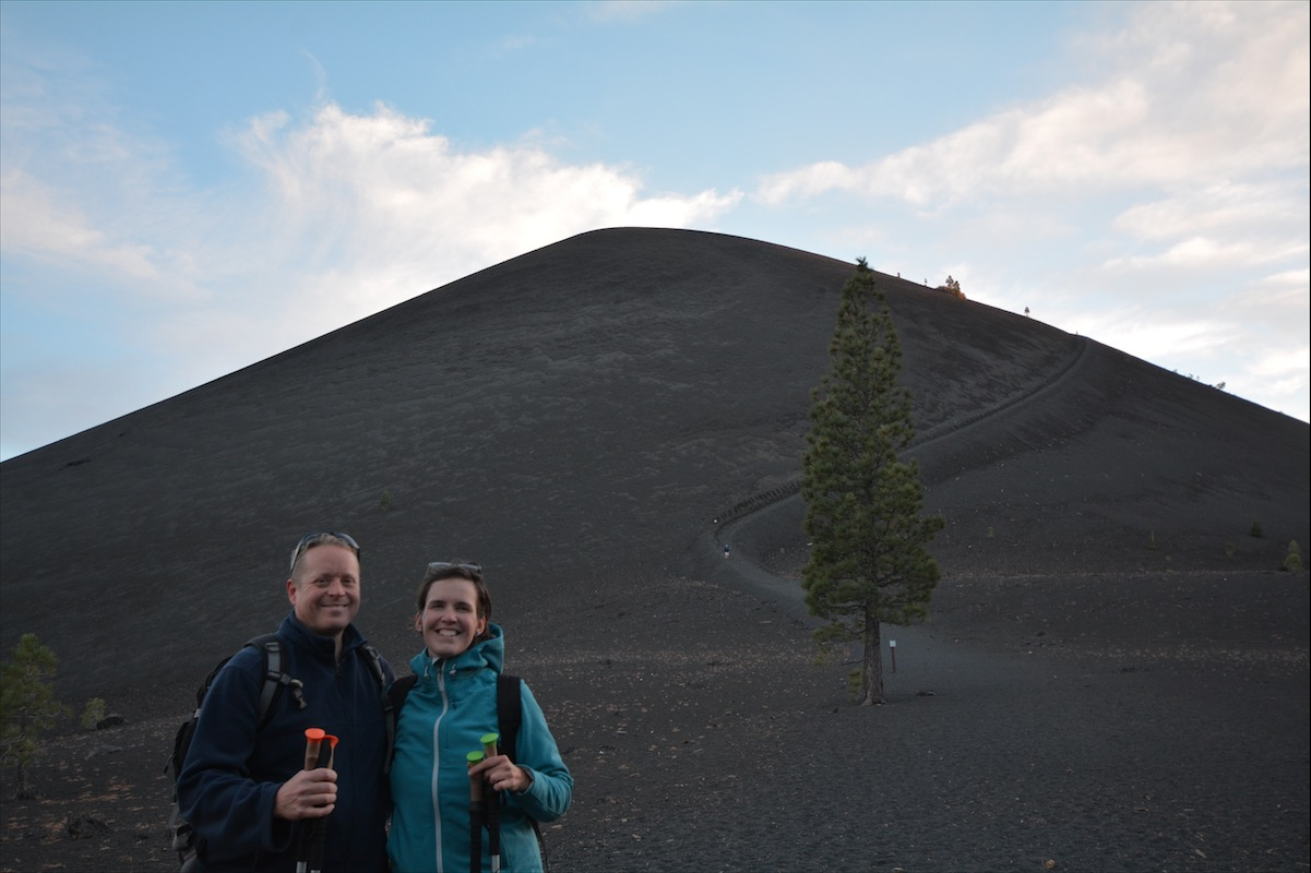 What was formerly part of Cinder Cone National Monument is now a part of Lassen Volcanic National Park